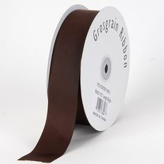 Chocolate brown solid color ribbon available in 6 sizes such as 3/8, 5/8, 7/8,2 & 1-1/2 inches. Worldwide shipping within two business days. To enjoy bigger sales!