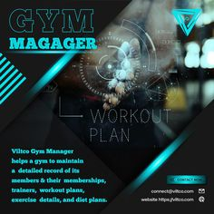 Viltco's Gym Manager is the best solution for your daily gym tasks and troubles. From membership management, managing the trainers, lead conversion to exercise & diet plan assignment this software will serve as an all in one management solution for your business. Trainers, Software, Management, Exercise, Gym, Diet, Workout, How To Plan, Website