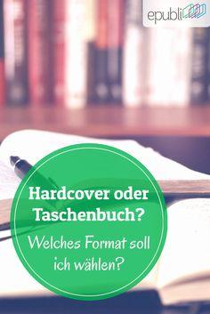 Ihr fragt Euch, welches Buchformat Ihr am besten verwenden sollt? Wir erklären Euch die Unterschiede! https://www.epubli.de/blog/hardcover-paperback-taschenbuch