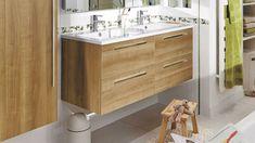 Salle de bains : 3 idées pour tout ranger, comme ce meuble Lapeyre Comme, Ranger, Vanity, Bathroom, Master Bathroom Vanity, Storage, Everything, Dressing Tables, Washroom
