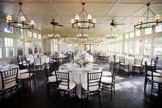 Chesapeake Bay Beach Club Wedding Reception 550x366 Garden by the Bay Wedding on Eastern Shore: Valerie + Michael