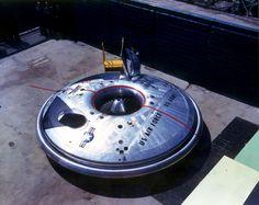 VX-9 Avrocar, 1st Flt 12 Nov 1959, Retired 1961, No. Built 2