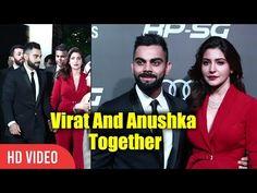 Cute Couple Virat Kohli And Anushka Sharma Together | Indian Sports Honours Awards 2017