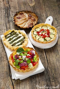 other ideas for quiche (i usually make quiche for brunch at my card workshops)
