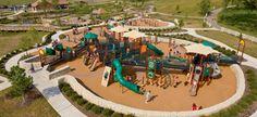 Millstone Creek Park Playground/ Westerville, OH  (inclusive playground)