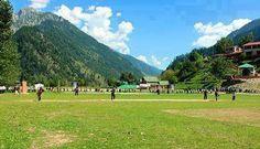 Cricket ground at Kel, Neelum Valley. #Kashmir