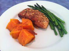 Salmon 2 Ways: Walnut Crusted or Honey Dijon