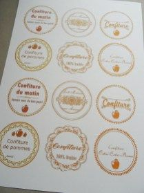 Decorative Plates, Apple Jelly, Sugar Crystals, Almond, Original Recipe, Printables, Thermomix