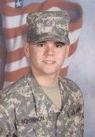 Army Pfc. Jeremy S. Bohannon Died August 5, 2007 Serving During Operation Iraqi Freedom 18, of Bon Aqua, Tenn.; assigned to the 59th Military Police Company, 759th Military Police Battalion, 89th Military Police Brigade, Fort Carson, Colo.; died Aug. 5 in Baghdad of wounds sustained from enemy indirect fire