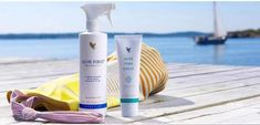 """Tip of the week from Forever . This week's product tip is from Felicity Wallbank: """"Been in the sun? Add some Aloe Moisturizing Lotion to Aloe First and shake well. Spray on as a cooling, soothing body milk"""". Forever Aloe, Forever Living Aloe Vera, Forever Living Brasil, Propolis Creme, Forever Living Business, Summer Skin, Summer 3, Forever Living Products, Hygiene"""