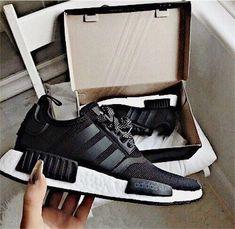 premium selection 51b73 b18e2  jadastockerr🌊 Black Adidas Nmd, Black Nmd, Adidas Nmds, Adidas Sneakers,