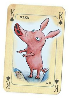 Julia Vuori, Sika (the pig)