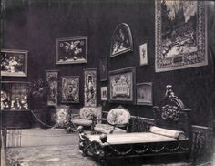 French Section including the Manufacture National Beauvais in the Palace of Fine Arts (St. Louis Art Museum) at the 1904 World's Fair.