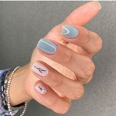 80 Cute Short Nail Art Design Ideas You can Copy in 2020 Summer - Page 13 of 16 - ibaz Cute Short Nails, Short Nails Art, Acrylic Nail Designs, Nail Art Designs, Nails Design, Short Nail Designs, Acrylic Nails, Rasta Nails, Minimalist Nails