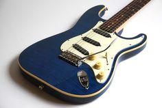 #fender #blue #guitar