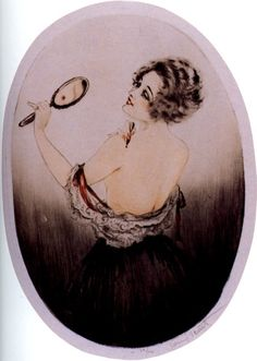 Beauty Mark by Louis Icart