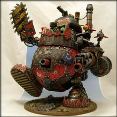 I am not a Warhammer fan, but I can appreciate this.  Excellent work.
