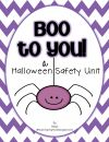 Boo to You! {A Halloween Safety Unit} product from TeachingInHighHeels on TeachersNotebook.com