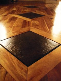 Wood Floor Inlay Patterns