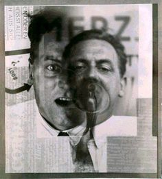 El Lissitzky - Portrait of Kurt Schwitters