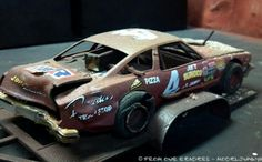 Nascar wreck model