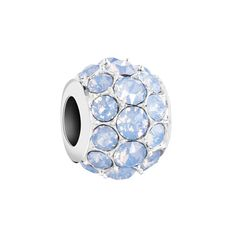 Chamilia Splendor Bead with Air Blue Opal Swarovski Crystals from Mullen Jewelers