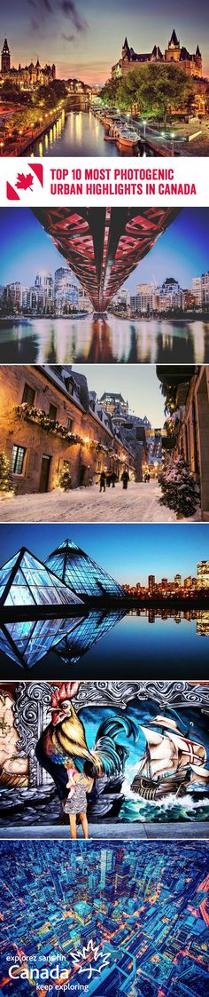 Canada's fjord-slashed coastlines, arctic tundras, snow-capped mountains and prairie expanses may get all the glory, but its urban skyline is equally worth shouting about. Here's 10 of our favourite vistas in Canada's coolest metropolises