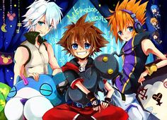 Sora, Neku & Riku