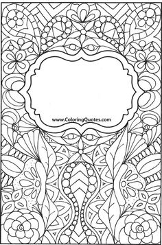 FREE Sample Pages | Coloring Quotes™