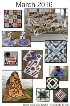 Freemotion by the River: March Quilts, Tutorials and Projects