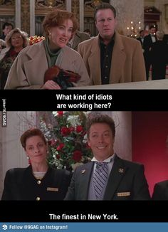 """What kind of idiots are work here?"" Oh, Tim Curry."