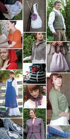 Jane Austen knits