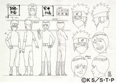 Kakashi Hatake and Guy Might - Concept ART (Naruto Shippuden) All rights reserved by Masashi Kishimoto. Kakashi And Guy 10 Years Kid Kakashi, Kakashi Hokage, Naruto Oc, Naruto Shippuden, Naruto Wallpaper, Character Sheet, Character Design, Naruto Sketch, Sketches Tutorial