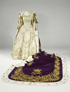 Nick Verreos: ROYAL COUTURE.....Queen Elizabeth II Norman Hartnell Coronation Gown, Robe, Jewels on Display at new Buckingham Palace Exhibition