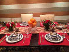Chinese New Year dinner party table setting & Pin by Melanie Voigt on Chinese braai   Pinterest   Table settings ...