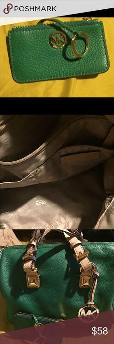 MK bag Michael Kors bag green Michael Kors Bags Totes