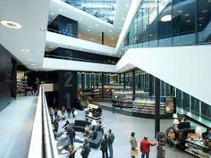 De Nieuwe Bibliotheek in Almere door Meyer en Van Schooten Architecten - alle projecten - projecten - de Architect