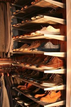 Shoe storage?