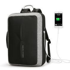 2018 New Anti-thief USB Recharging Backpack Price  76.00  amp  FREE  Shipping   1308554d82f96