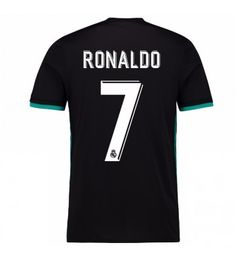 Billiga Fotbollströjor Real Madrid Cristiano Ronaldo 7 Bortatröja 17-18