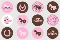 Free Bottle Cap Images Download | 411 HORSE LOVE Bottle Cap Graphics