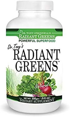 Amazon.com: Tony's Radiant Greens Natural 9.6oz 288gm: Health & Personal Care