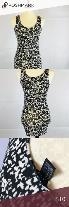 Bodycon Print Mini Dress 🔥 PRICE IS FIRM 🔥 New without tags  Dress has plenty of stretch  Is extra short can also be worn as a shirt or with leggings for less revealing look  No holes stains snags or damages  BUNDLE AND SAVE XXI Dresses Mini