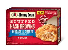 Try Jimmy Dean Sausage Stuffed Hash Browns to enhance your morning breakfast routine. Jimmy Dean Sausage, Tyson Foods, Life On A Budget, Morning Breakfast, Eat Breakfast, Breakfast Ideas, Best Breakfast Recipes, How To Make Breakfast, Sausage Breakfast