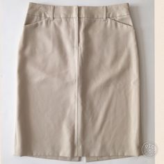 J. Crew Pencil Skirt This skirt fits lovely. It has pockets and a split in the back. It has no stains or defects. It is fully lined. J. Crew Skirts Pencil
