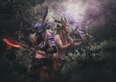 Battle faun's cosplay. Other character ;)  Cosplay: https://www.facebook.com/hydencosplay/  Photo: https://www.facebook.com/NinaJaniakFotograf/?fref=ts