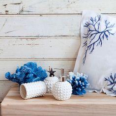 Con Zara Home catalogo 2015 la casa si veste di eleganza Zara Home accessori da bagno stella marina