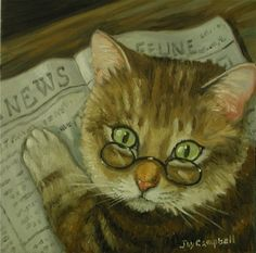 News Cat - Joy Campbell.