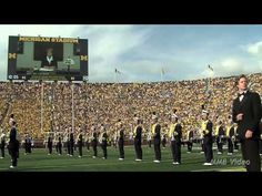 """▶ James Bond in """"From Ann Arbor with Love"""" - August 31st, 2013 - The Michigan Marching Band - I KNOW I did NOT just see a jetpack... Or did I?"""