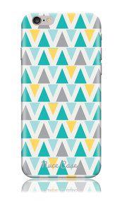 iPhone 6 Plus Case SS Triangle Chevron Cool Design Hard Phone Case | www.nucecases.com | #apple #iphone #nucecases